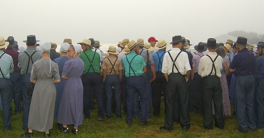 Amish Crowd