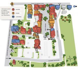 Kitchen Kettle Village Map